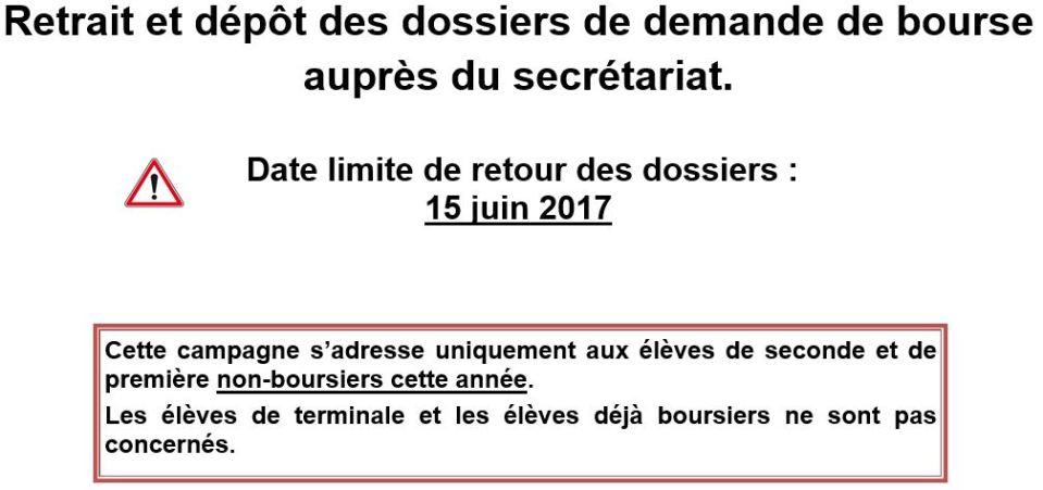 2017-2018BourseAffiche