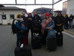 l'arrivée à Stralsund