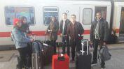 en transit à Hambourg