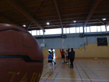 C'est l'heure du basket...
