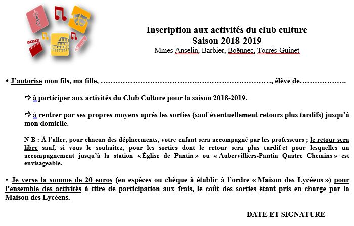 ClubCulture_inscription2018-2019